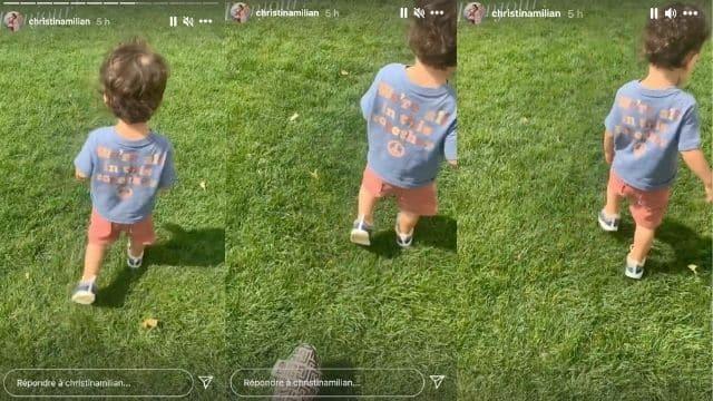 Christina Milian prouve que son petit garçon Isaiah a bien grandi !