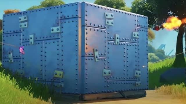 Fortnite: comment se servir du nouveau mur blindé comme piège ?