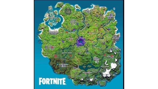 Fortnite saison 7: où trouver les oeufs extraterrestres sur la map ?