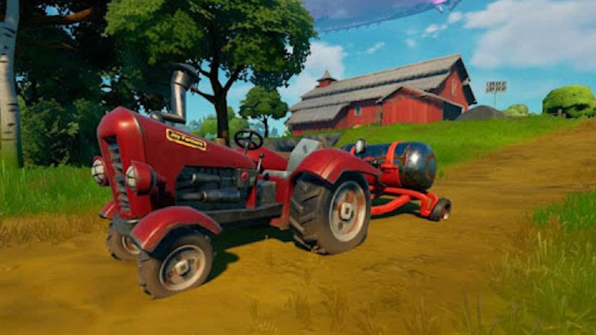 Fortnite saison 8: comment détruire le tracteur dans le jeu vidéo ?