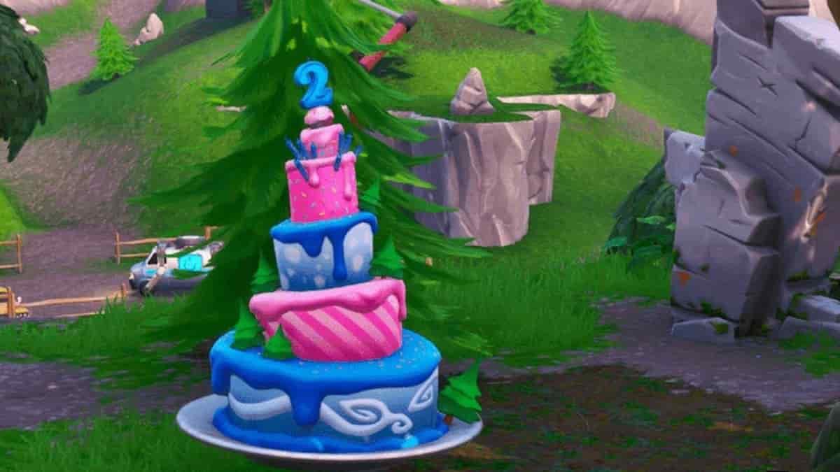 Fortnite saison 8: où trouver et consommer des gâteaux d'anniversaire ?
