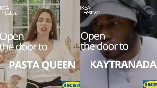 IKEA la TikTokeuse Pasta Queen et Kaytranada présents au festival !