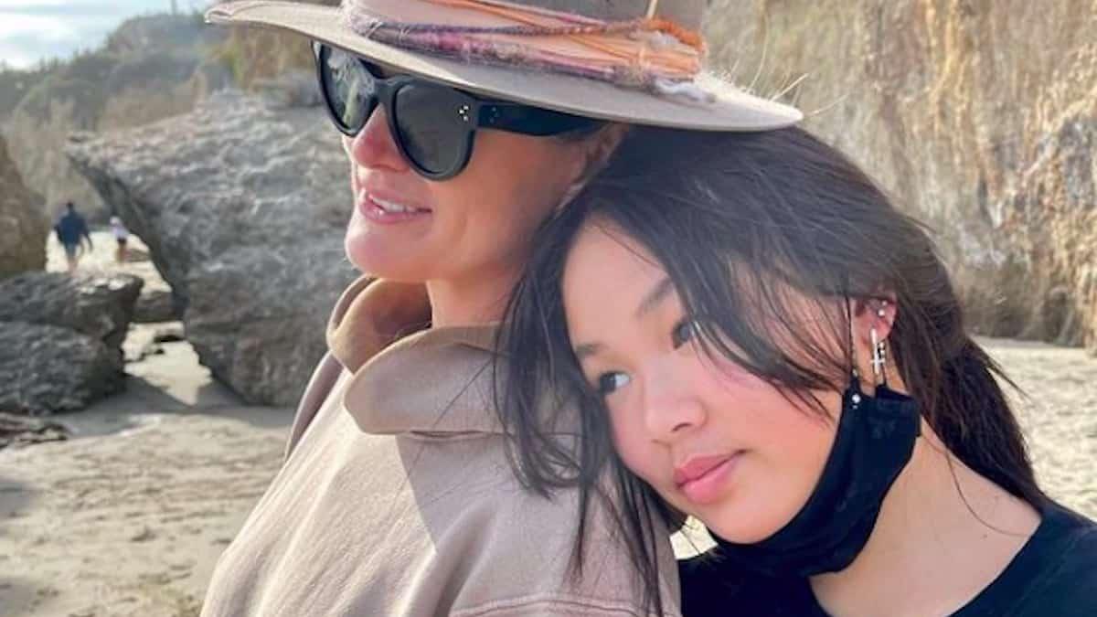 Laeticia Hallyday: sa fille Joy très fière d'avoir Johnny comme père !