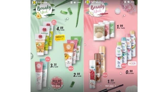 Lidl dévoile sa sélection de produits de douche bio à moins de 5 euros !