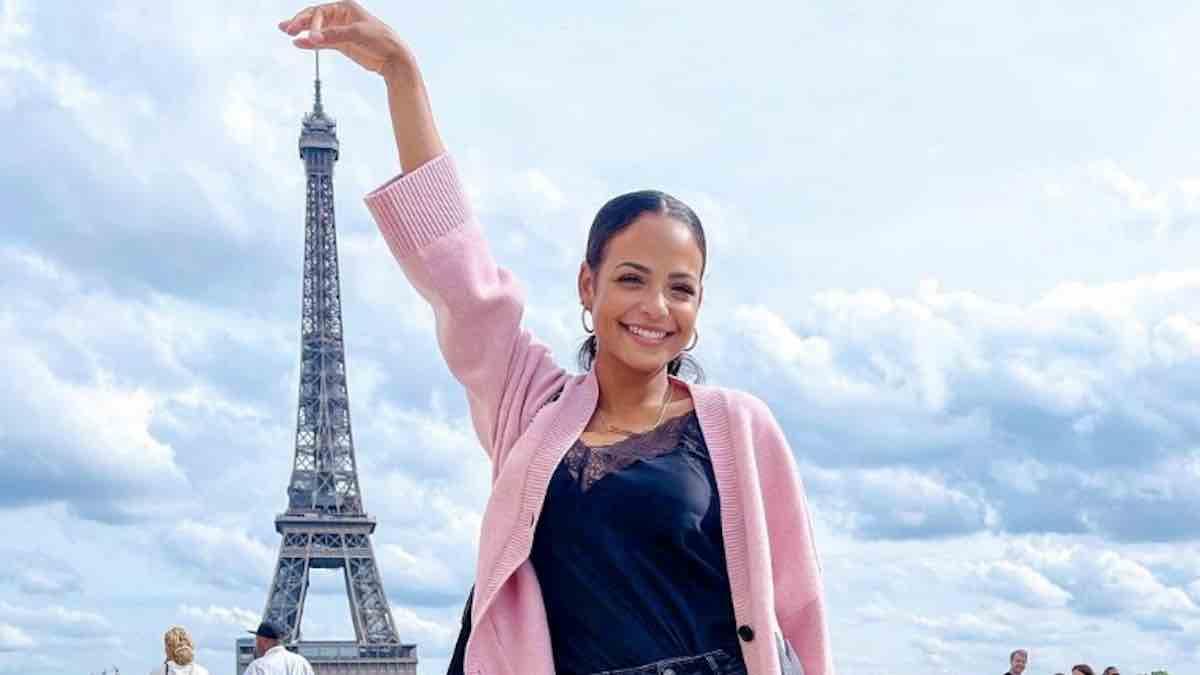 M Pokora: sa chérie Christina Milian est en mode incognito à Paris !