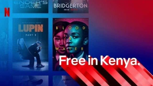 Netflix lance une version 100% gratuite mais qu'au Kenya !