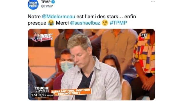TPMP Matthieu Delormeau gratte l'amitié avec toutes les stars ?