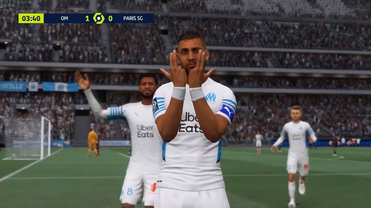 FIFA 22: le signe Jul débarque comme célébration dans le jeu de foot !