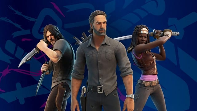 Fortnite: Rick Grimes de «The Walking Dead» débarque dans le jeu vidéo !