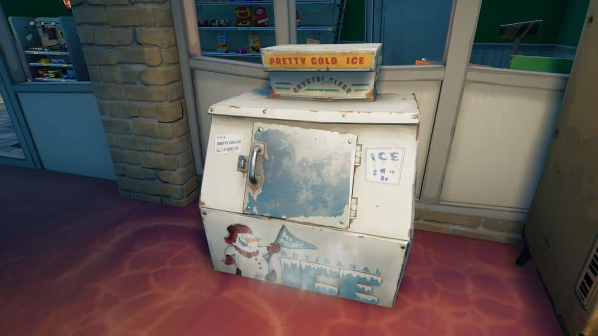 Fortnite saison 8: découvrez les emplacements des machines à glaçons !