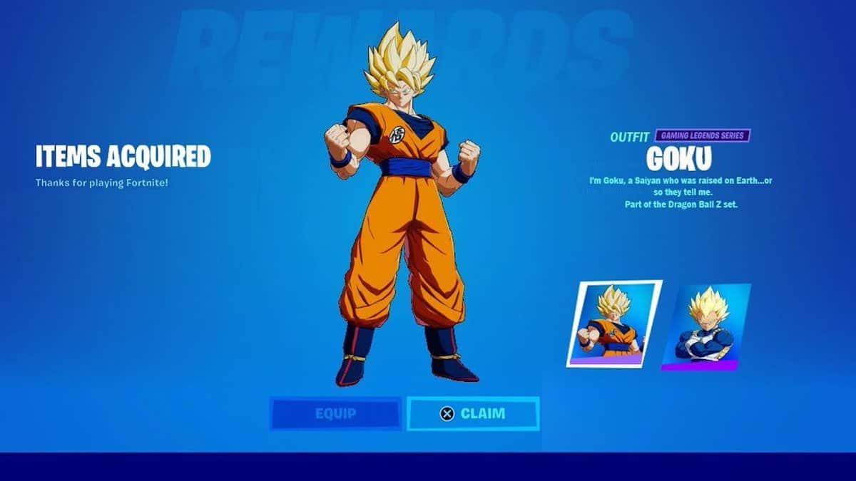 Fortnite saison 8: Goku de Dragon Ball Z débarque dans le jeu vidéo ?