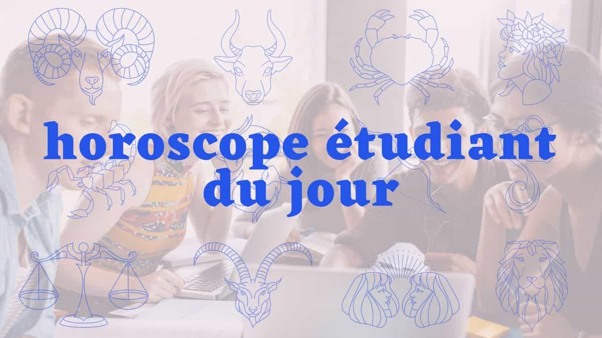 Horoscope étudiant du jour du mercredi 13 octobre 2021 !