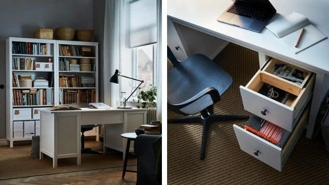 Ikea: ce meuble ultra fonctionnel qui se transforme en bureau !