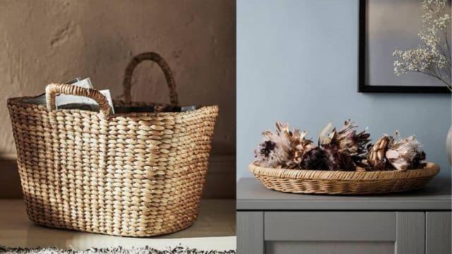 Ikea mise tout sur les fibres durables avec bambou, rotin et jonc !