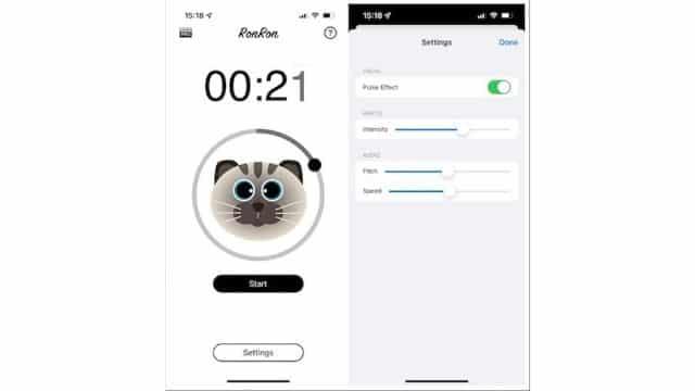 iPhone: l'application RonRon reproduit le ronronnement de votre chat !