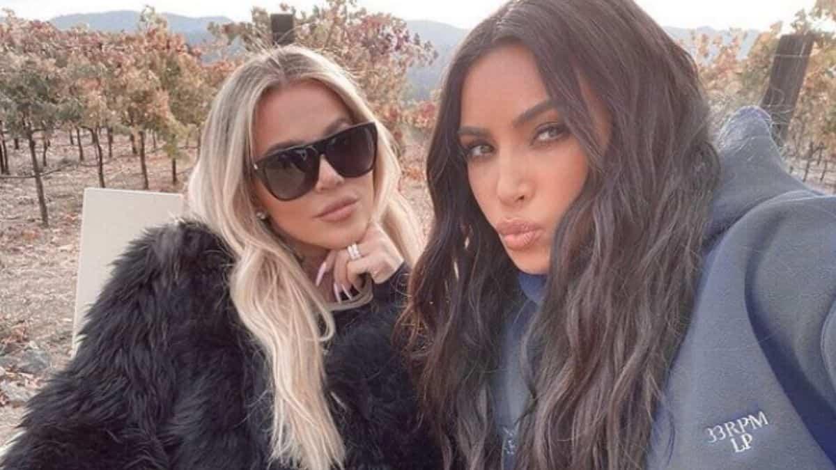 Kim Kardashian bluffée par la silhouette de sa sœur Khloé Kardashian !
