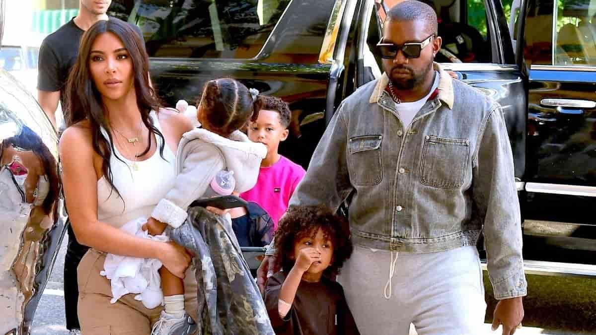 Kim Kardashian obtient la garde des enfants contre son ex Kanye West !