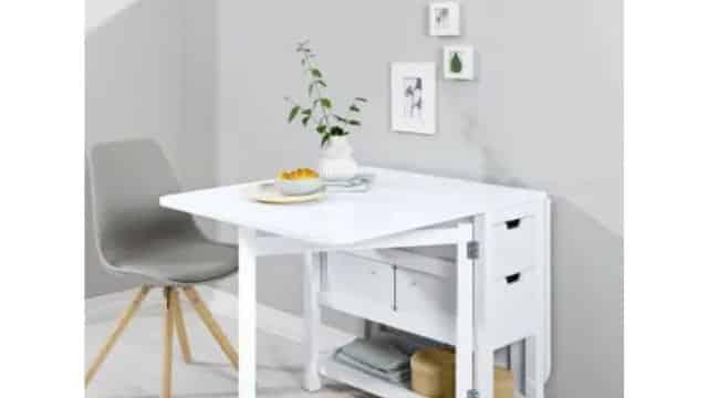 Lidl concurrence Ikea avec une petite table ultra pratique !