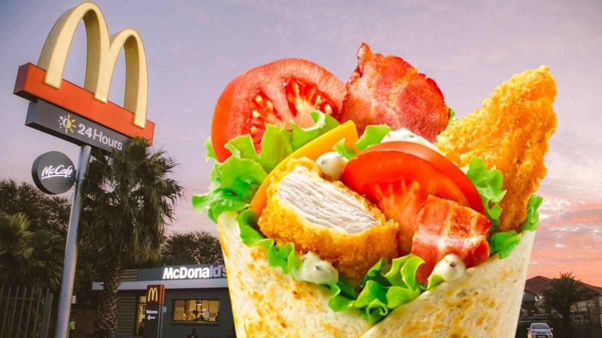 McDonald's annonce le retour du McWrap Chèvre pour une durée limitée !