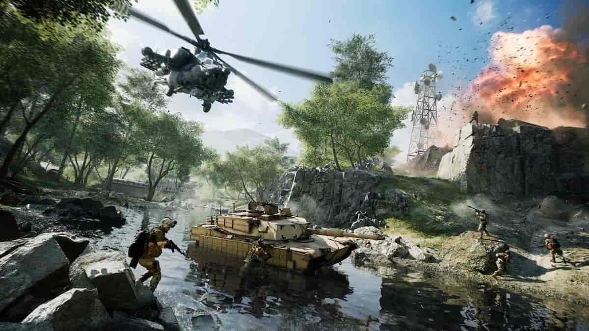 PS5: l'offre cross-gen inclus dans le jeu «Battlefield 2042» ?