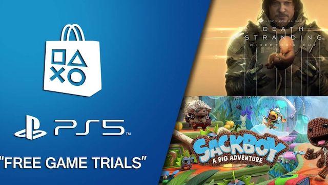PS5: Sony proposera de tester certains jeux avant de les acheter !