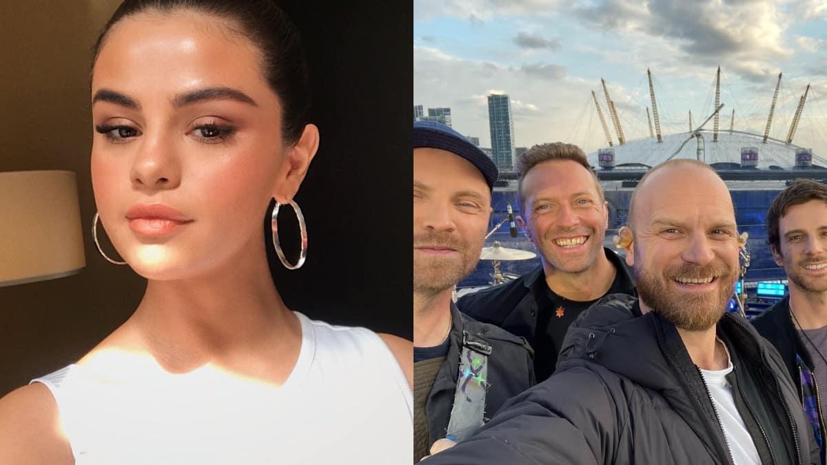 Selena Gomez tease son premier feat avec Coldplay «Let Somebody Go» !