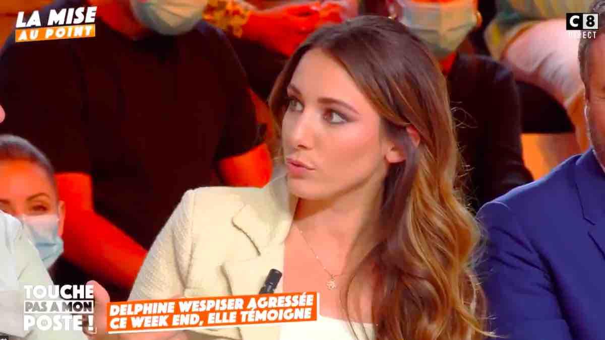 "TPMP: Delphine Wespiser raconte sa terrible agression ""J'ai eu peur"" !"