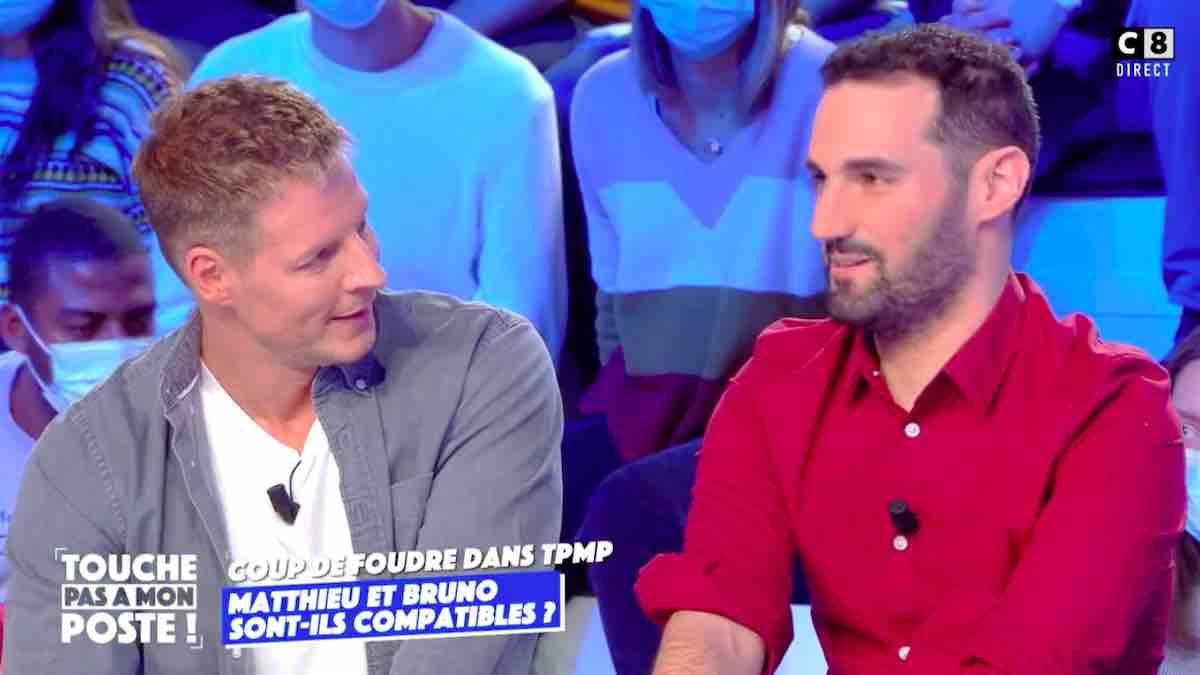 TPMP: Matthieu Delormeau sous le charme de Bruno les 12 coups de midi !