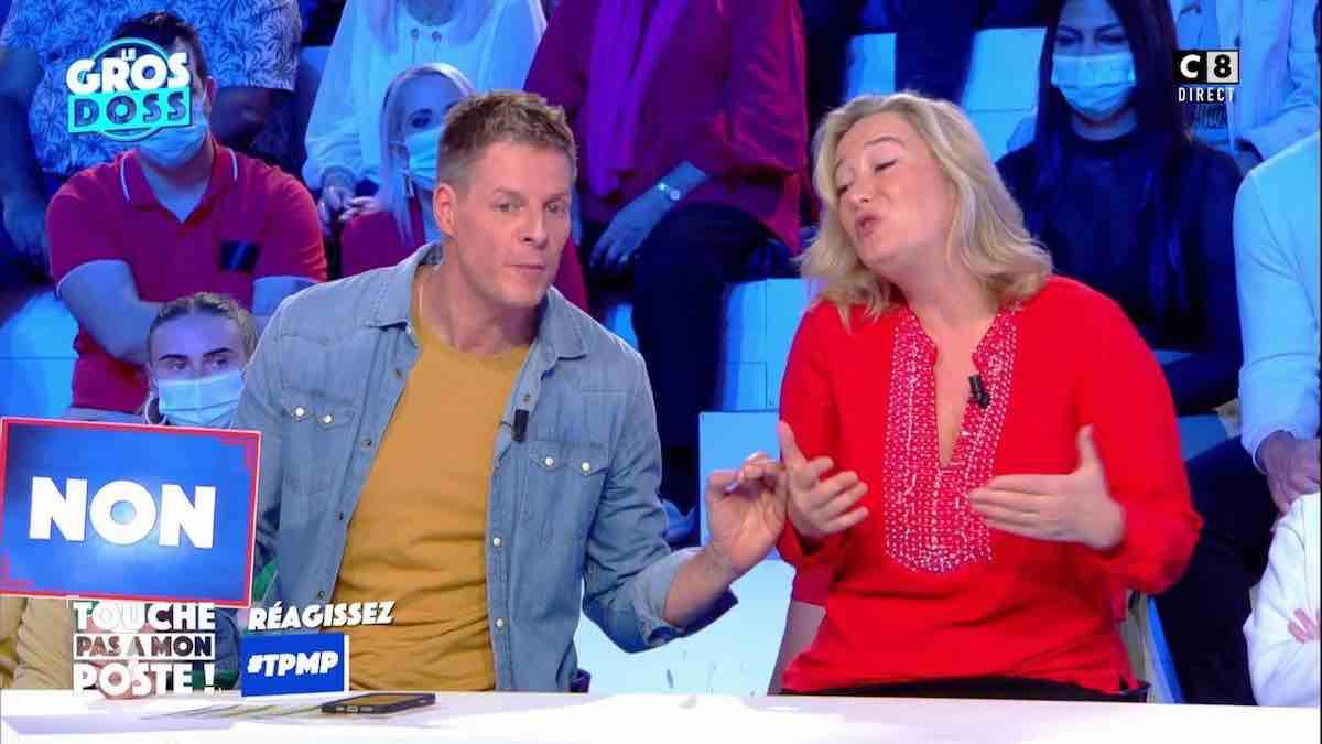 """TPMP: Matthieu Delormeau vexé par la présidente de """"Manif pour tous"""" !"""