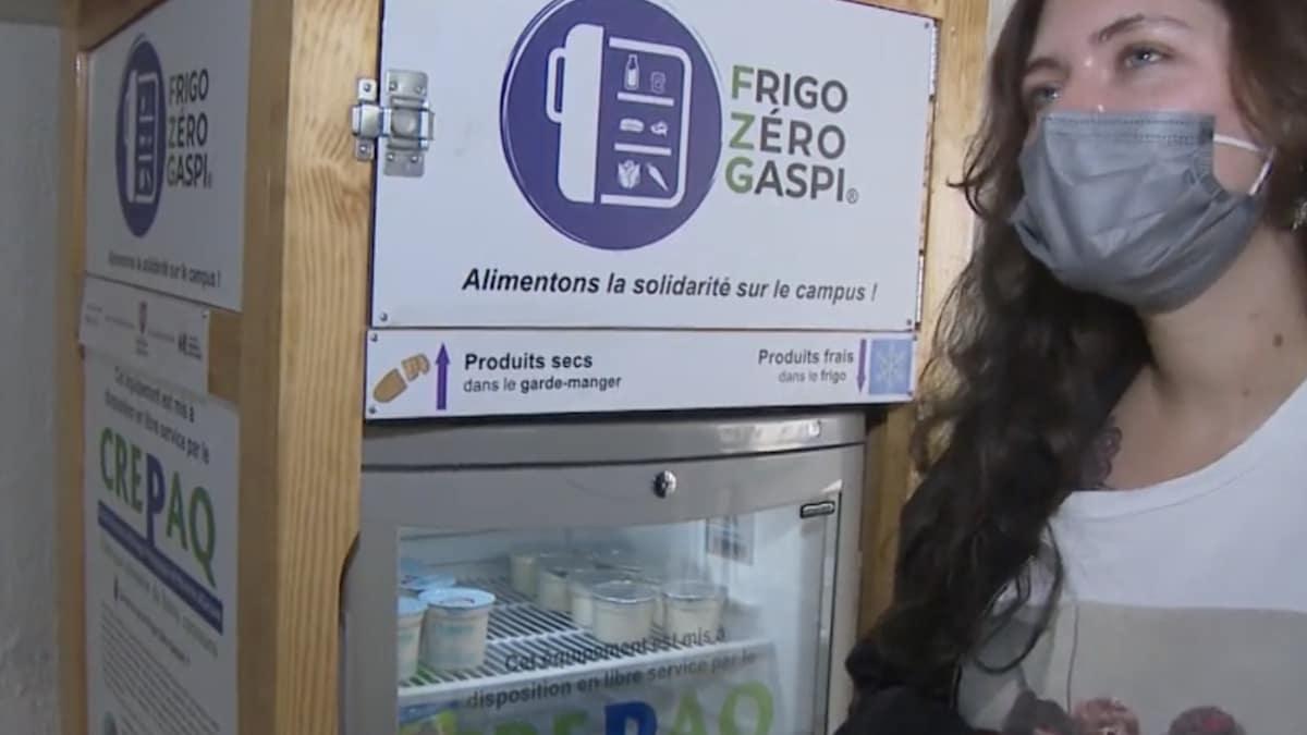 Un campus lutte contre la précarité étudiante avec un frigo solidaire !