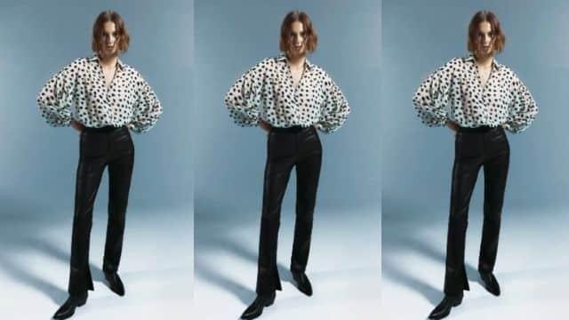 Zara remet la chemise de Lady Di au goût du jour à moins de 30 euros !
